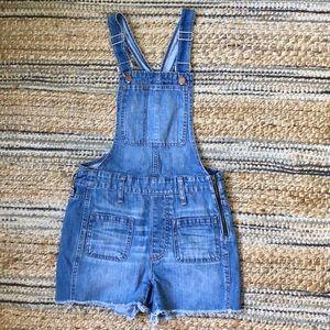 {madewell} Adirondack overalls shorts